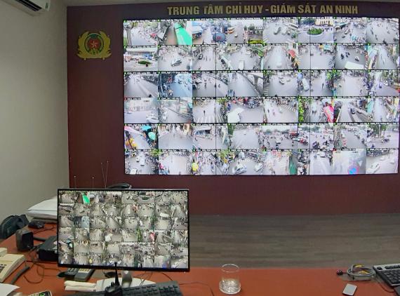 Phần mềm quản lý camera mạng View 100