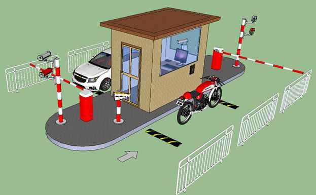 Giải pháp Bãi xe thông minh
