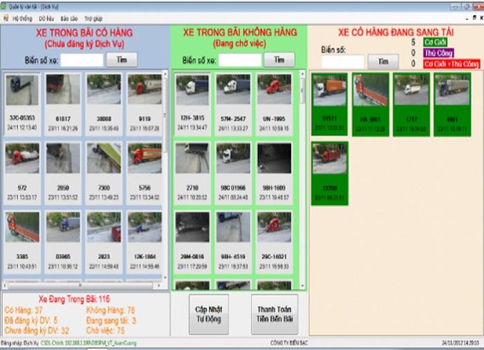 Phần mềm đếm chuyến SPM-VT